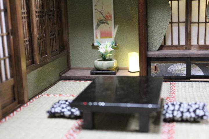 ★懐かしの和室と茶室六畳1/12のドールハウス★_画像3