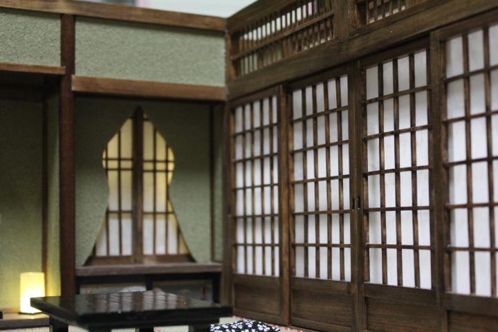 ★懐かしの和室と茶室六畳1/12のドールハウス★_画像5