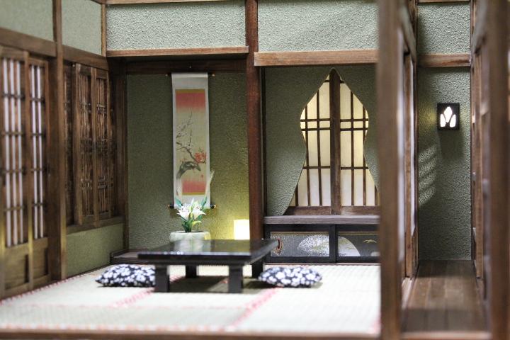 ★懐かしの和室と茶室六畳1/12のドールハウス★_画像8