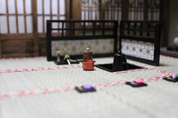 ★懐かしの和室と茶室六畳1/12のドールハウス★_画像9
