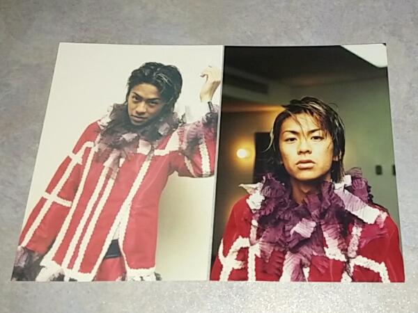 V6 森田剛 ファミリークラブ 公認写真 4枚セット ⑮ 美品