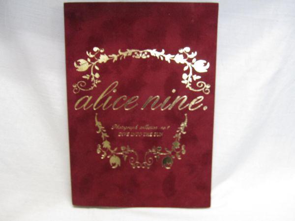 [中古品] アリスナイン 写真集 alice nine DIVE INTO THE SUN アリス九號 A9 特典付き 月光浴
