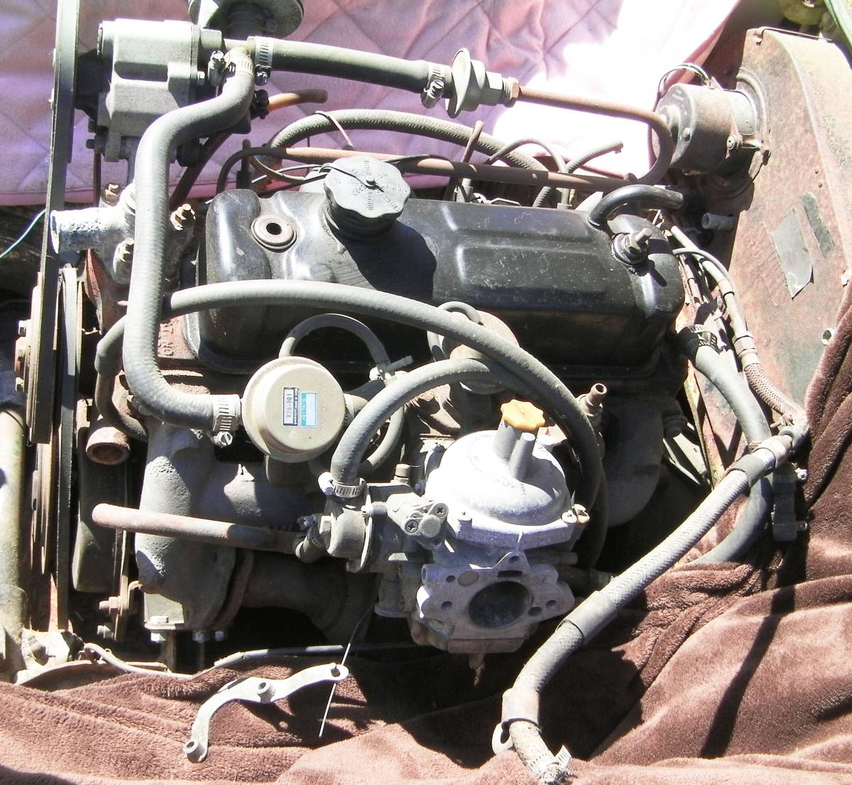 75-80 year MGB MG B 18V engine LONG BLOCK operation