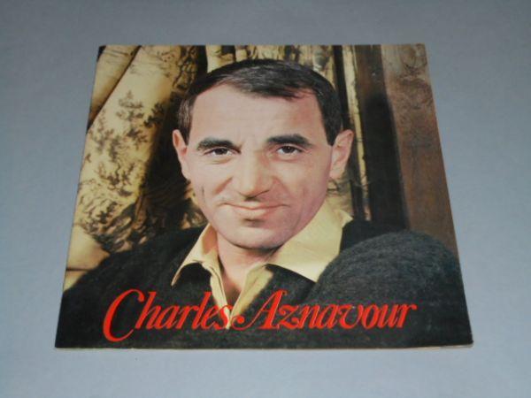 029 「シャルル・アズナヴール 来日ツアーパンフ」1960年代