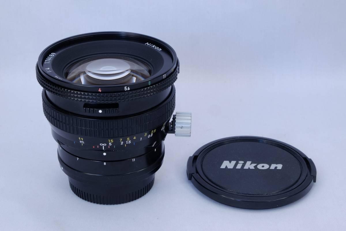 Nikon ニコン PC Nikkor 28mm F4 Fマウント 交換レンズ 中古品 建築 風景 写真 等に