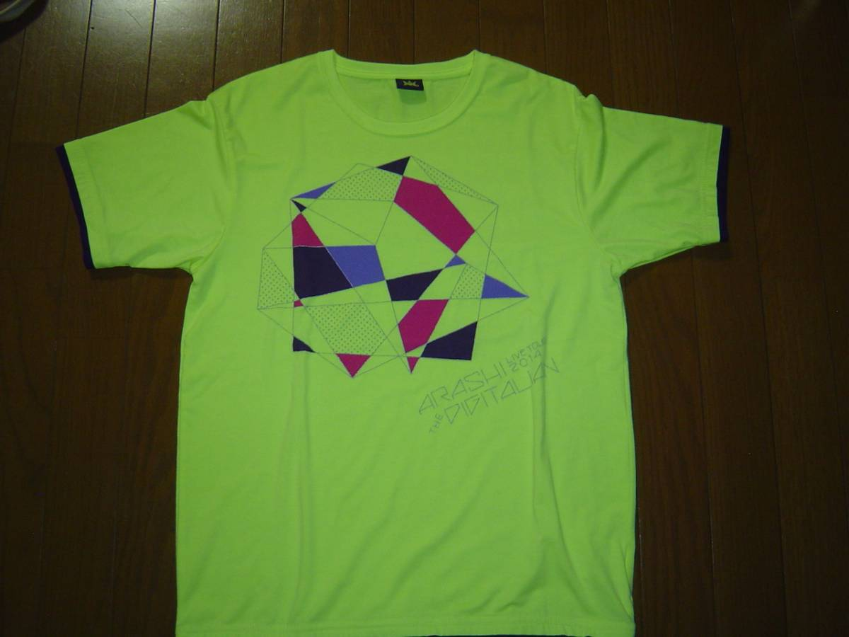 新品同様★嵐 Tシャツ LIVE TOUR 2014 THE DIGITALIAN