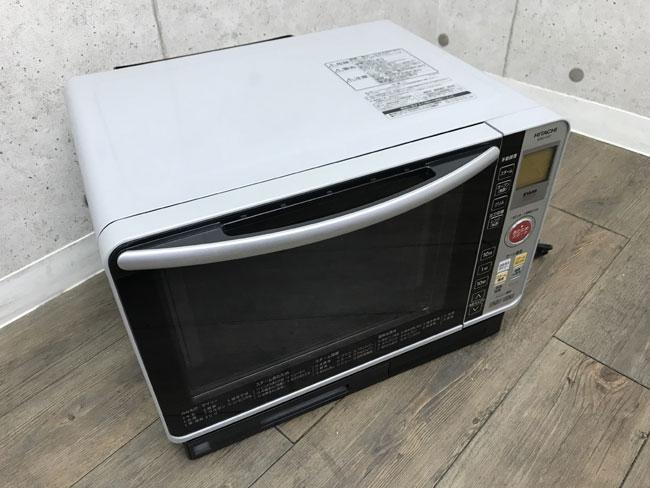 【送料無料1円~】過熱水蒸気オーブンレンジ 日立 MRO-FS7 スチーム機能 フラット PAM C1102-26
