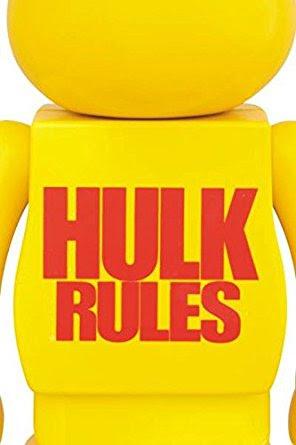 ベアブリック BE@RBRICK 400% ハルクホーガン 美品 MEDICOMTOY メディコムトイ HULK WWE TNA_画像3