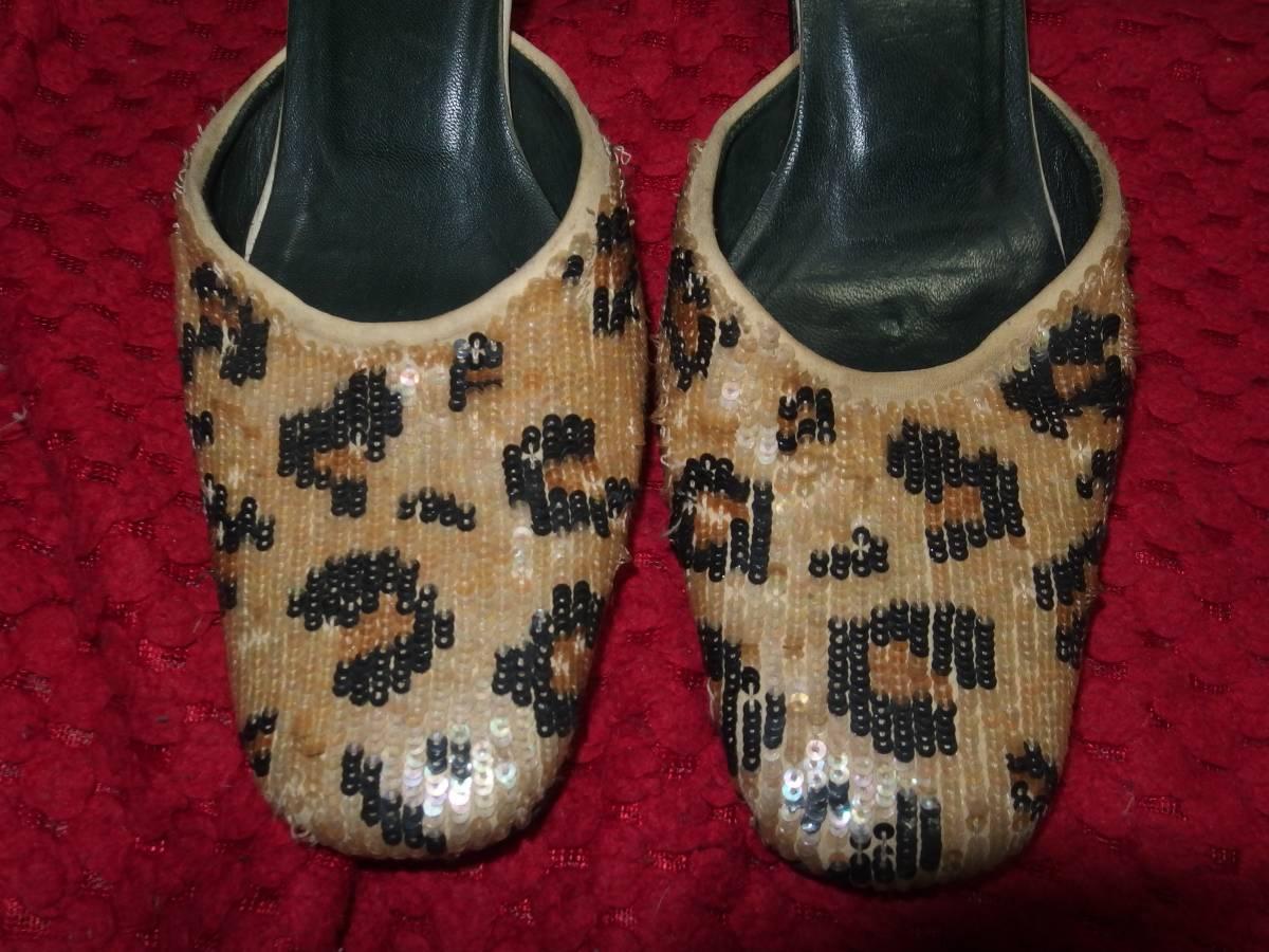 フェリーラFERRIRAイタリア製の婦人靴・レディースシューズ・ミュール/35サイズ/同サイズの靴を多数出品中/熊本県から定形外で発送_画像3