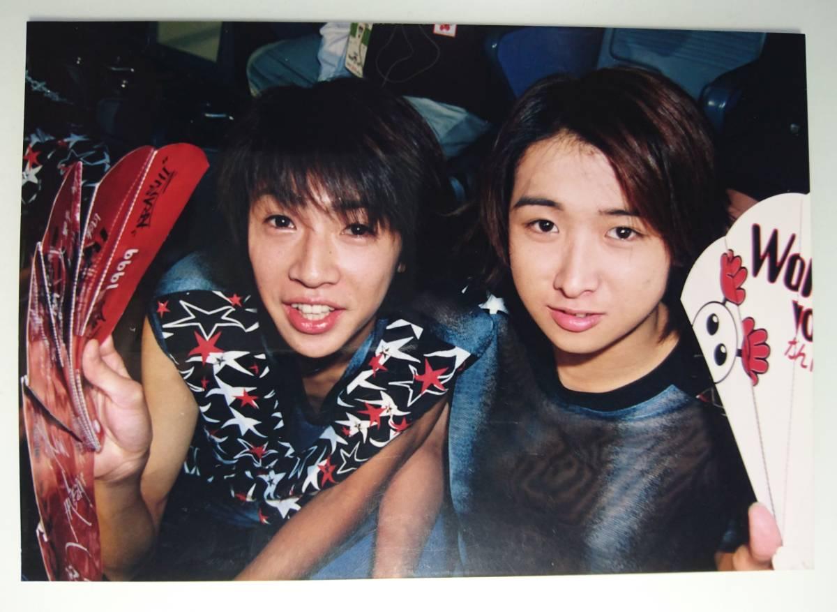 嵐 大野智 相葉雅紀 ファミクラ 公式写真 ファミリークラブ 1枚 1999 バレーボール Limited World Cup Volleyball character Arashi 美品