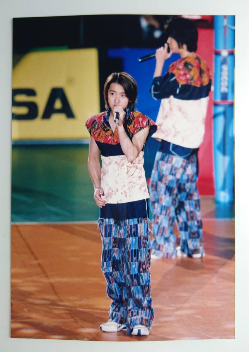 嵐 大野智 相葉雅紀 ファミクラ 公式写真 ファミリークラブ 1枚 バレーボール Limited World Cup Volleyball Image character Arashi 美品