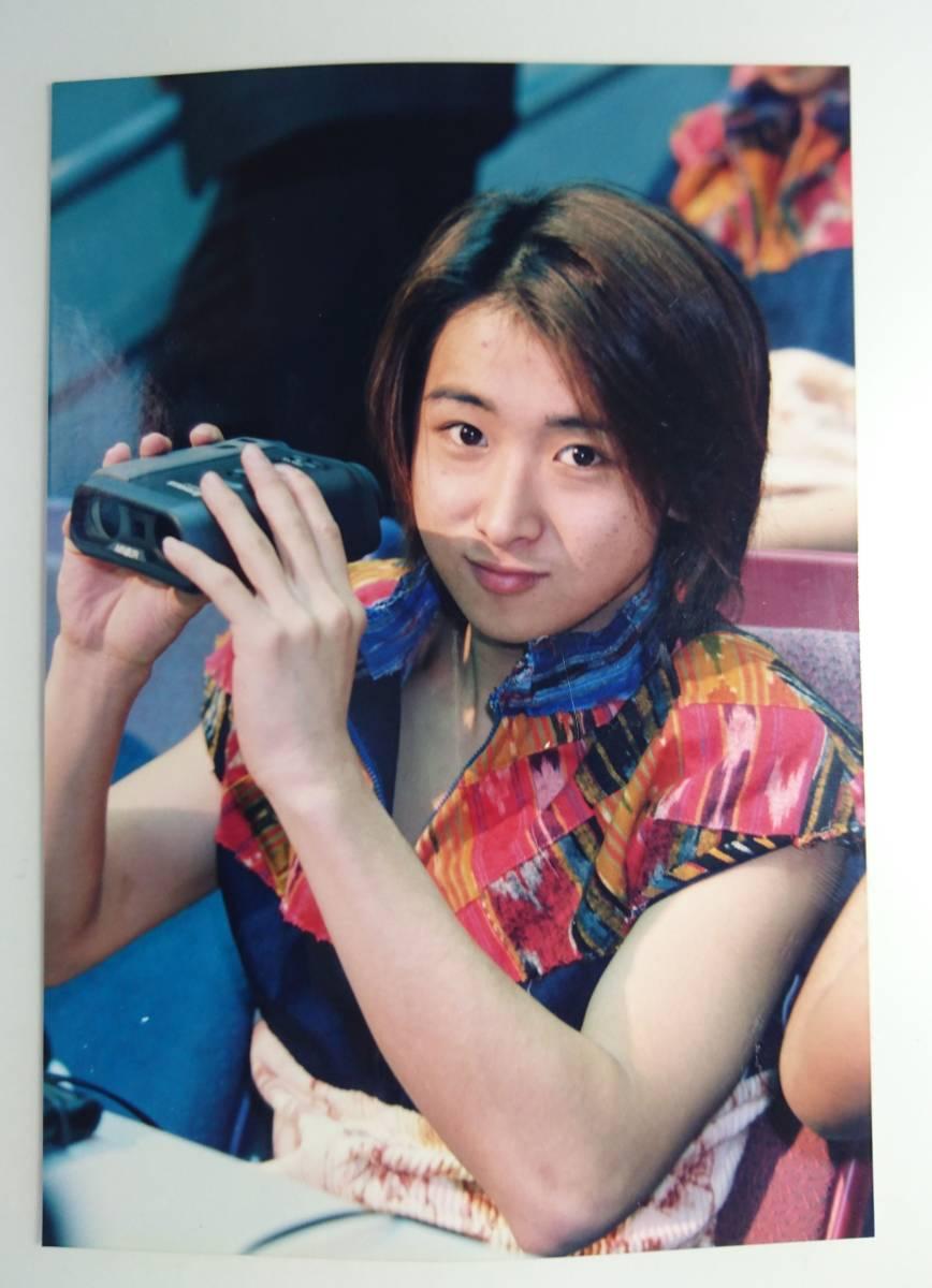 嵐 大野智 ファミクラ 公式写真 ファミリークラブ 1枚 1999 バレーボール Limited World Cup Volleyball Image character Arashi 美品