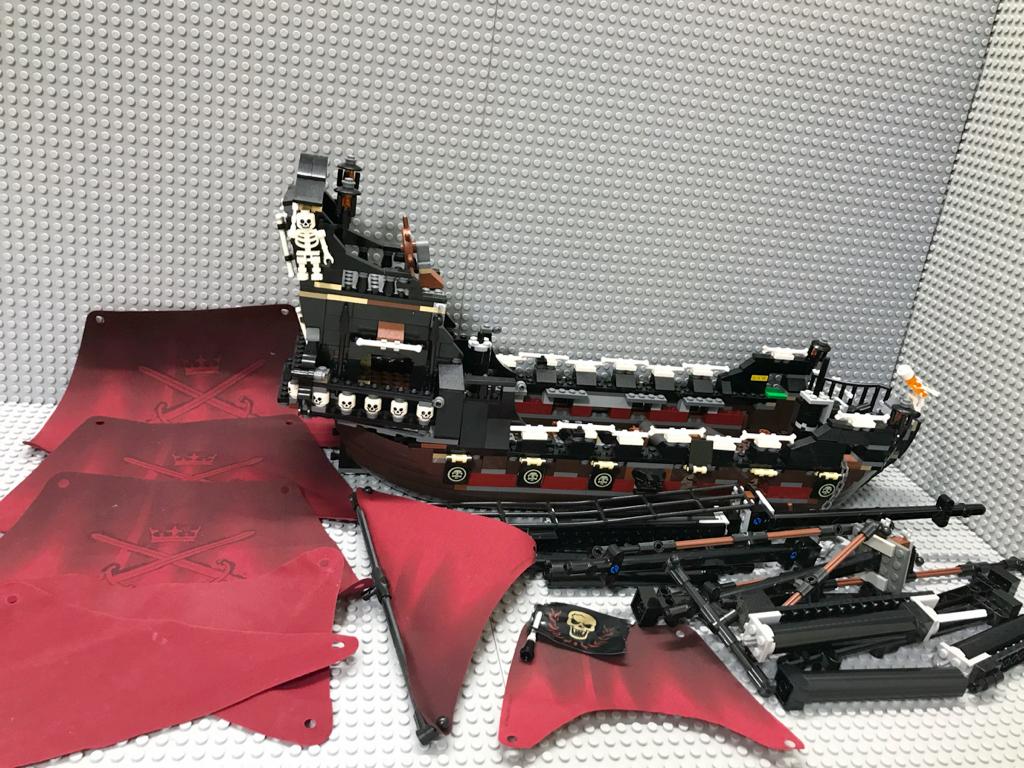 ☆パイレーツオブカリビアン☆ レゴ 4195 アン王女の復讐号 LEGO 海賊船