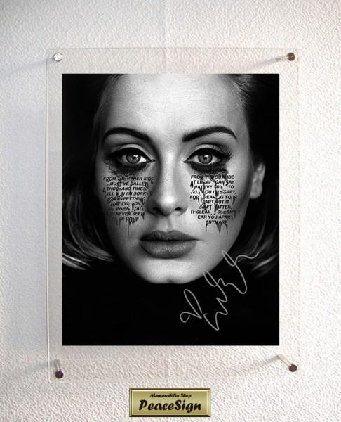 ◆直筆サイン◆ アデル / Adele ◆ 25 / Send My Love (To Your New Lover) ★送料無料★彡
