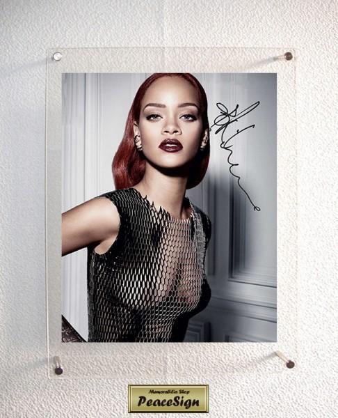◆直筆サイン◆ リアーナ / Rihanna ◆ Anti / Love on the Brain ★送料無料★彡