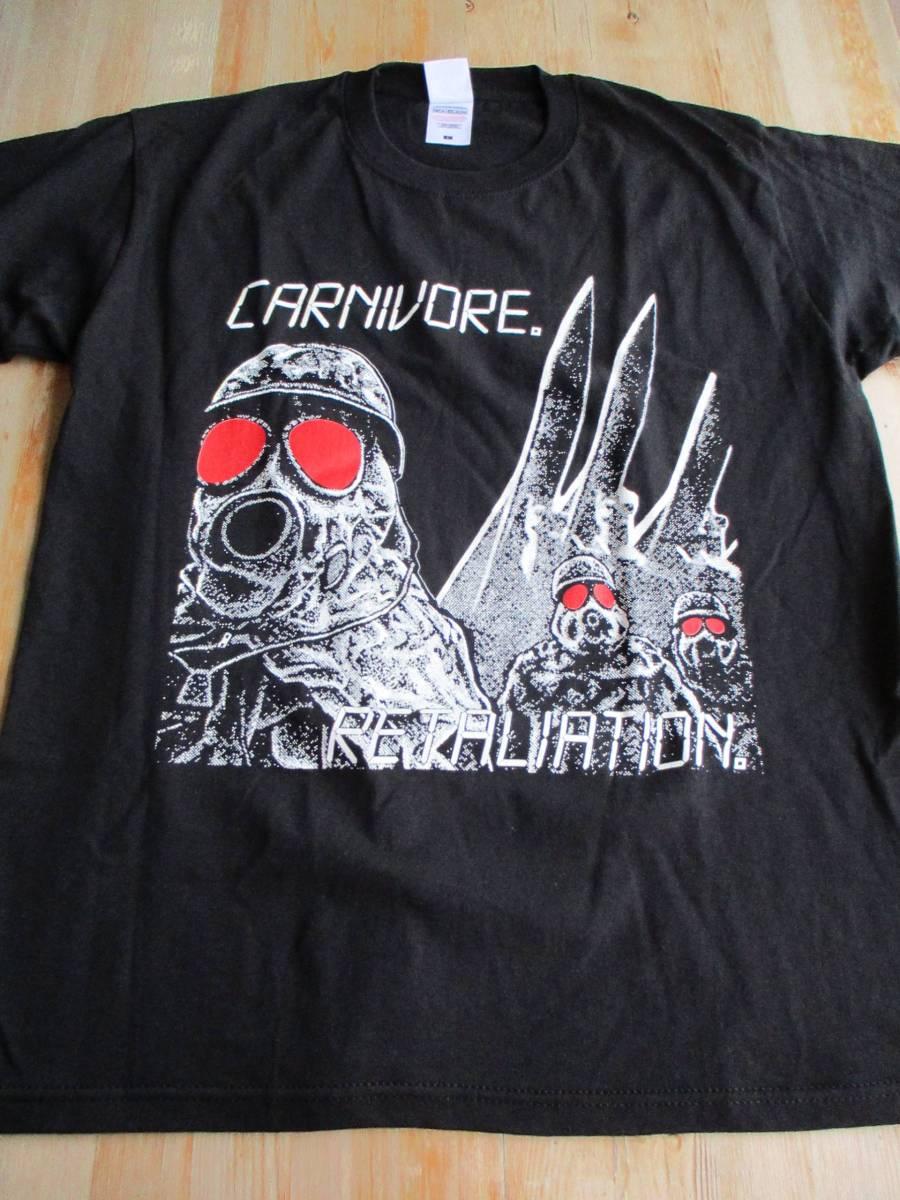 CARNIVORE Tシャツ retaliation 黒L / agnostic front cro-mags Type O Negative Sean Taggart leeway sheer terror