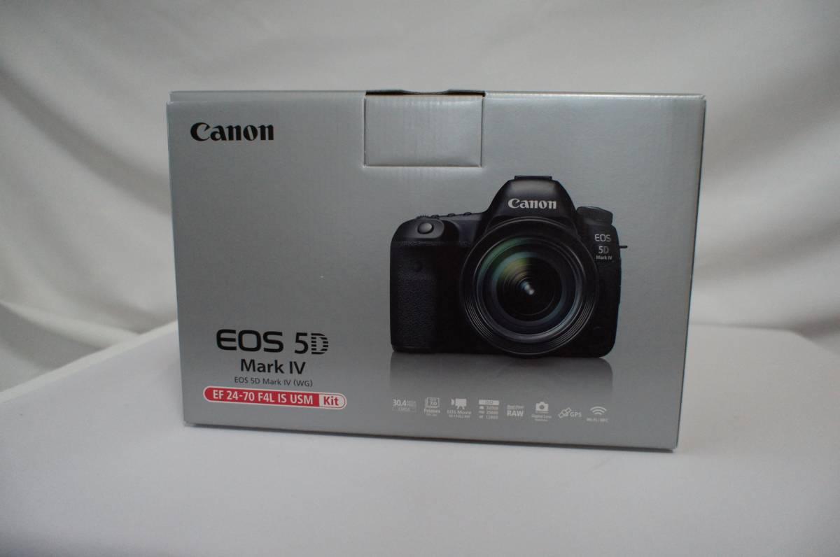 ◆新品未使用 CANON EOS 5D Mark IV EF24-70 F4.0 L IS USM レンズキット 保証書付き