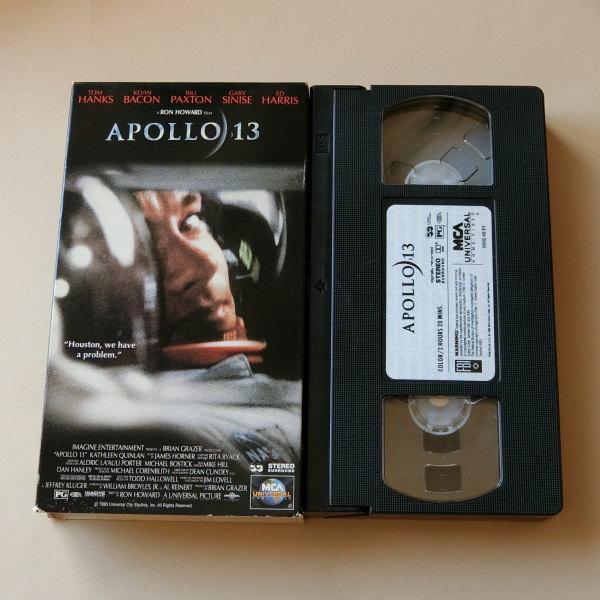 アポロ13 トム ハンクス 映画 ビデオテープ VHS DVD カセット