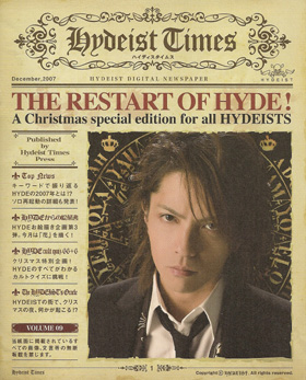 HYDE/hydeist times vol.09☆106020282