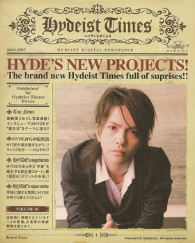 HYDE/hydeist times vol.07★106020280