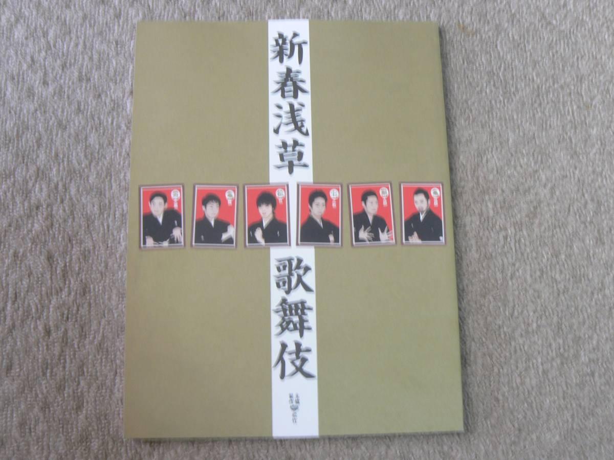新春浅草歌舞伎 パンフレット プログラム 市川亀治郎 中村勘太郎 平成21年