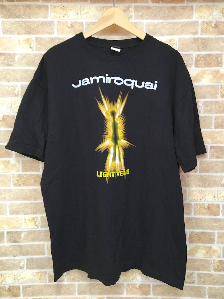 IMPORT GEAR ジャミロクワイ Jamiroquai LIGHT YEARS Tシャツ 3L