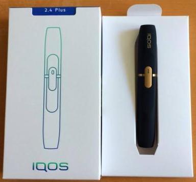 最新未使用(箱開封済) 2.4Plus iQOS(アイコス)ホルダーのみ ネイビー 保障なし(商品詳細を必ずご覧下さい)