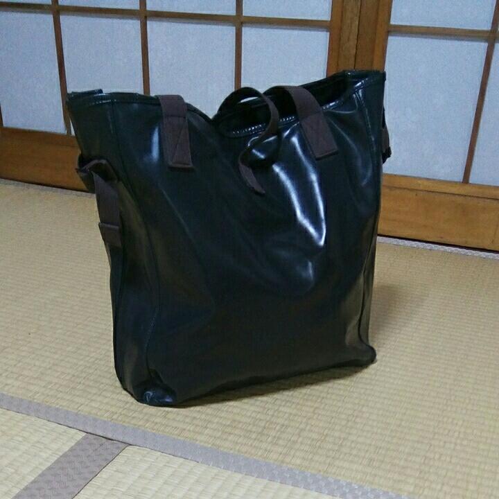 ☆送料無料☆ LUGGAGE LABEL 定価17800円 トートバック PORTER MADE IN JAPAN 吉田カバン_画像2