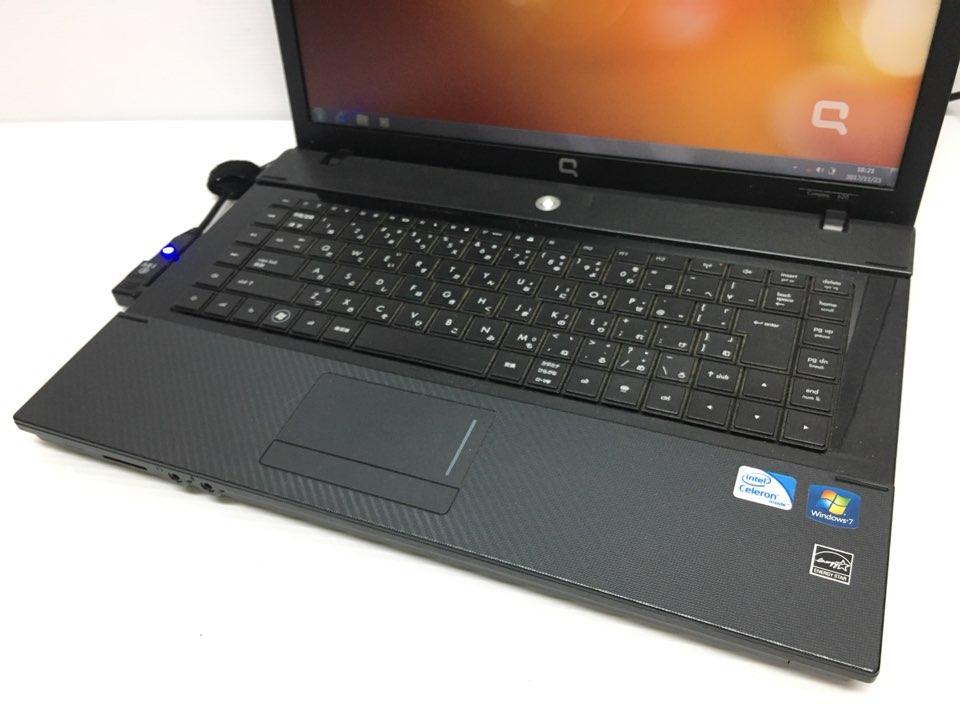 [美品1円] HP ノートPC Compaq 620 DualCore win7 スーパーマルチDVD 15インチ画面搭載_画像2