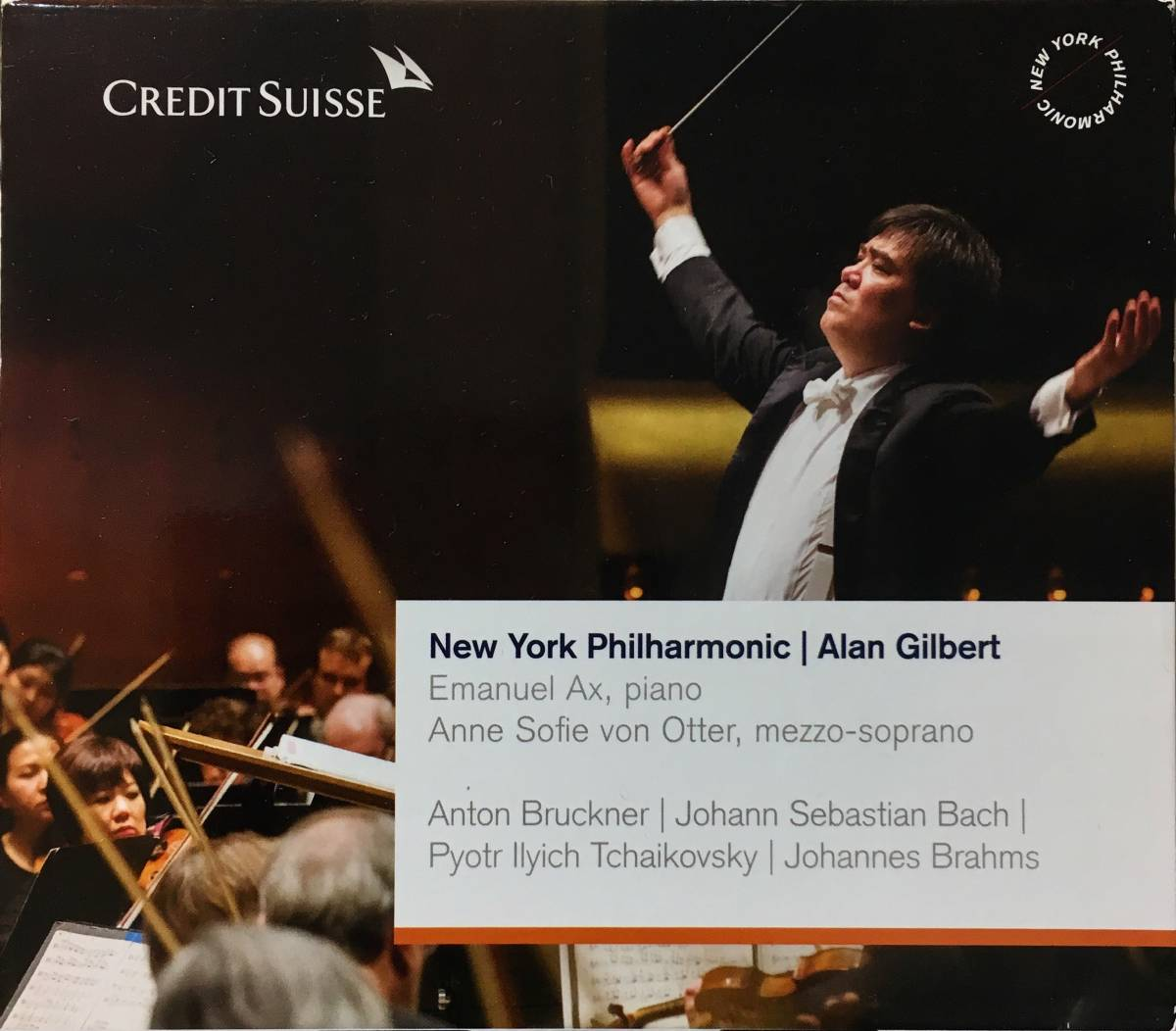 (Z0H)★レア盤/CREDIT SUISSE/2013-14 Your Gift from Alan Gilbert & The Newyork Philharmonic/Emanuel Ax/Anne Sofie von Otter★_画像1