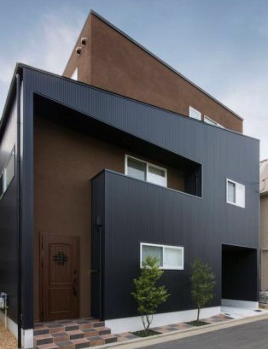 ★金属サイディング SF-ガルスパンJ 外壁材 長さ4000×働き幅396×厚さ15mm 6枚入(2.88坪) 縦張り 横張り_画像5