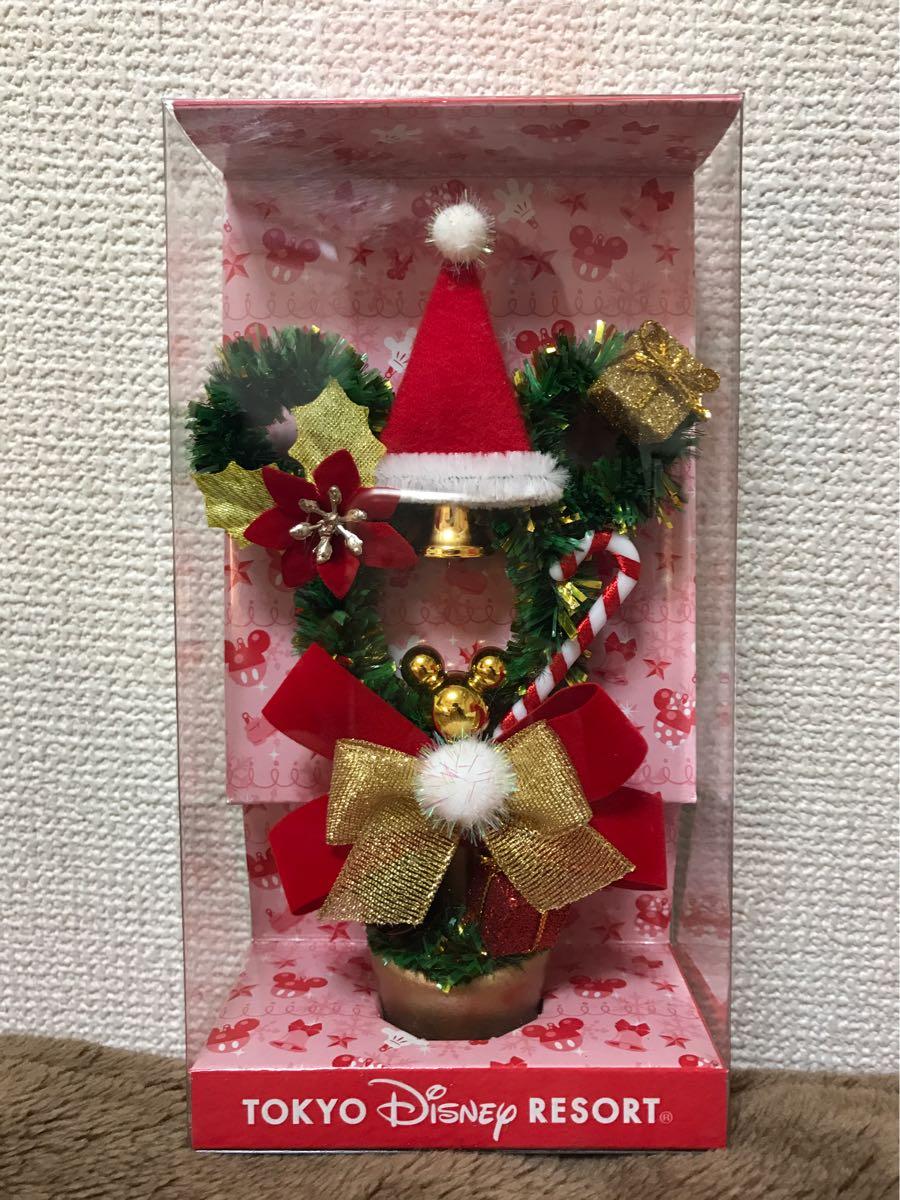 【即決2050円/送料220円/入金確認より24時間以内に迅速発送目指します】ディズニー クリスマスツリー ミッキー型★未使用未開封★ ディズニーグッズの画像