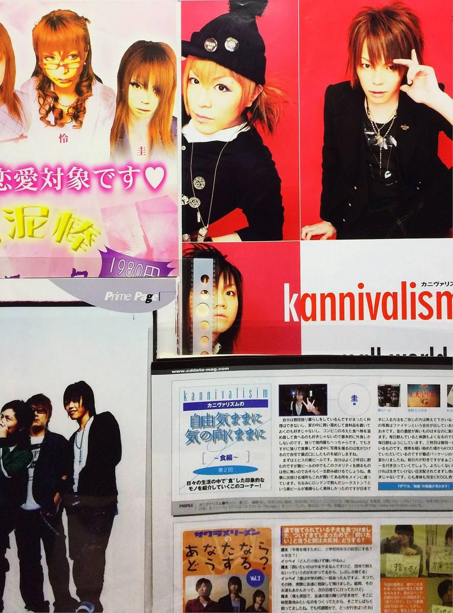 切り抜き バロック・kannivalism 58P CDでーた連載/WHAT's IN? ワッツイン/KERA! ケラ/PATI PATI パチパチ etc baroque