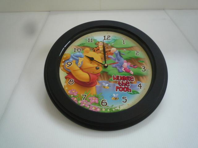 【お買い得!】 ★ 掛け時計 ★ くまのプーさん イラスト 円型