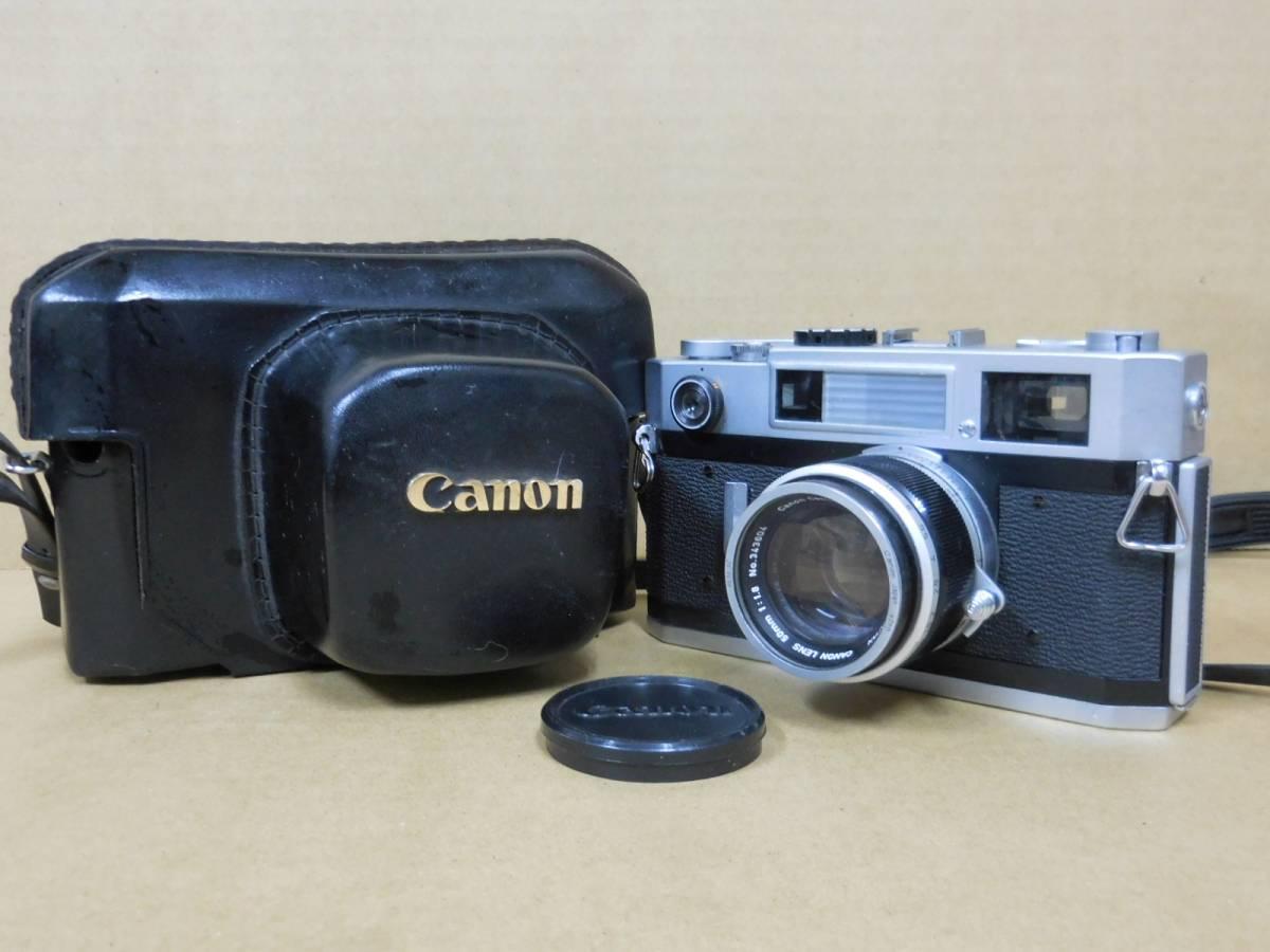 キャノン canon7s lens 50mm 1:1.8 カメラ レンジファインダー