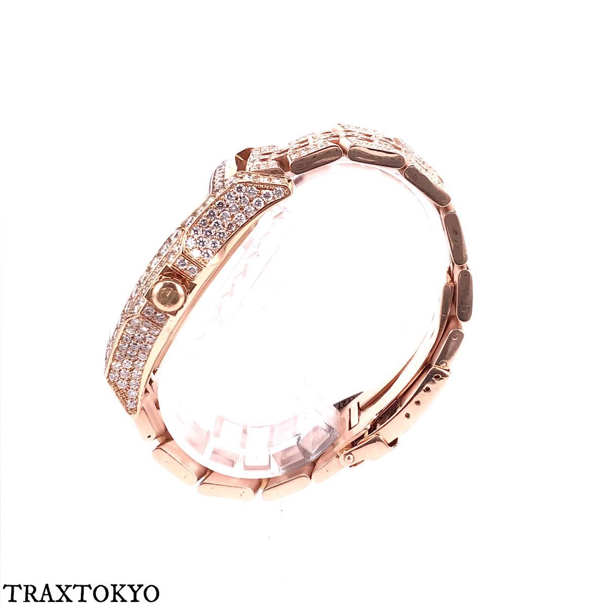 ブライトリング BREITLING ベントレー フライングB R28362 ピンクゴールド ダイヤモンド 美品 メンズ traxtokyo_画像3
