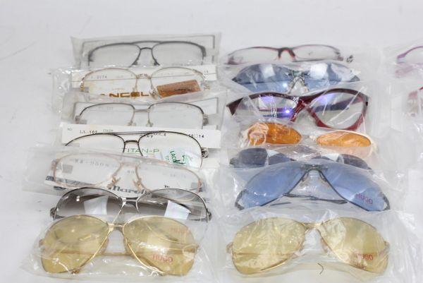 ■未使用 ランセル ラコステ ピエールカルダン HUGO等 眼鏡 メガネフレーム いろいろ 大量セット 27点■ #10555_画像2