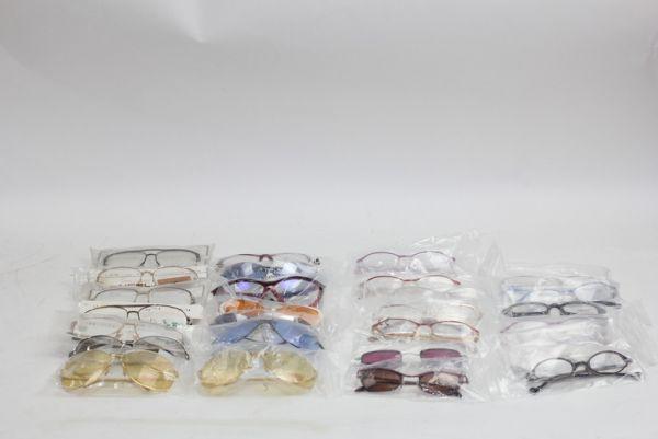 ■未使用 ランセル ラコステ ピエールカルダン HUGO等 眼鏡 メガネフレーム いろいろ 大量セット 27点■ #10555