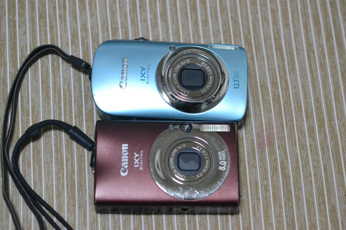 Canon IXY DIGITAL 510 IS 20IS 2台セット 動作確認済 中古