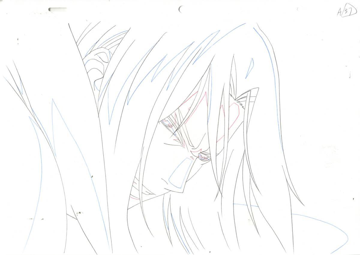 『劇)薄桜鬼 第二章 士魂蒼穹』原画・ラフ73枚です。_画像7