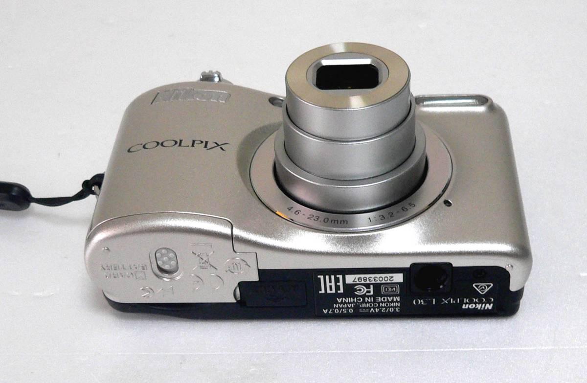 ★中古/Nikon ニコン COOLPIX L30 ★_画像6