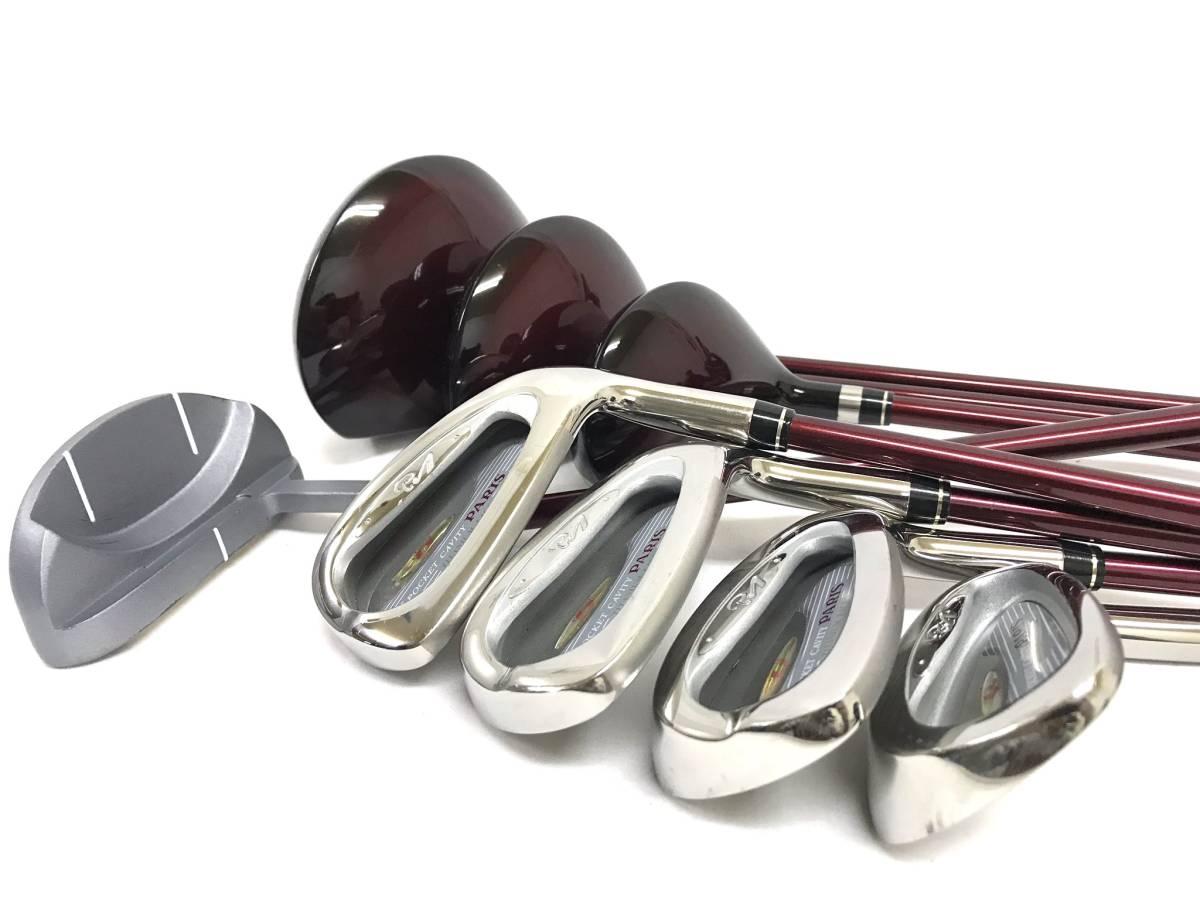 ■8本セット・超美品■Paris パリス ゴルフクラブセット レディース アイアン パター ユーティリティ_画像8