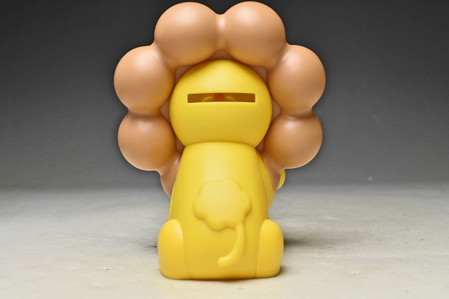 【ミスタードーナツ】ポンデライオン 貯金箱 非売品 箱付 PON DE LION CHOKINBAKO ポン・デ・リング_画像4