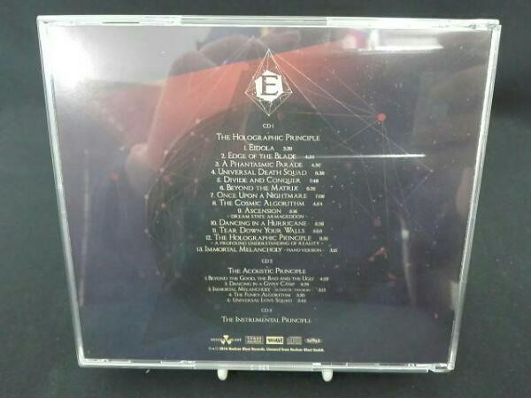 エピカ(オランダ) ザ・ホログラフィック・プリンシプル【完全生産限定盤CD+ボーナスCD+インストゥルメンタルCD/日本盤限定ボーナストラック_画像2