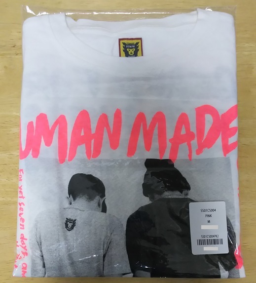 HUMAN MADE for STUDIO SEVEN HM7 LONG T-SHIRT / Tシャツ M ピンク / PINK 新品 EXILE 三代目JSB NAOT Happiness 藤井夏恋 楓 APE ロンT