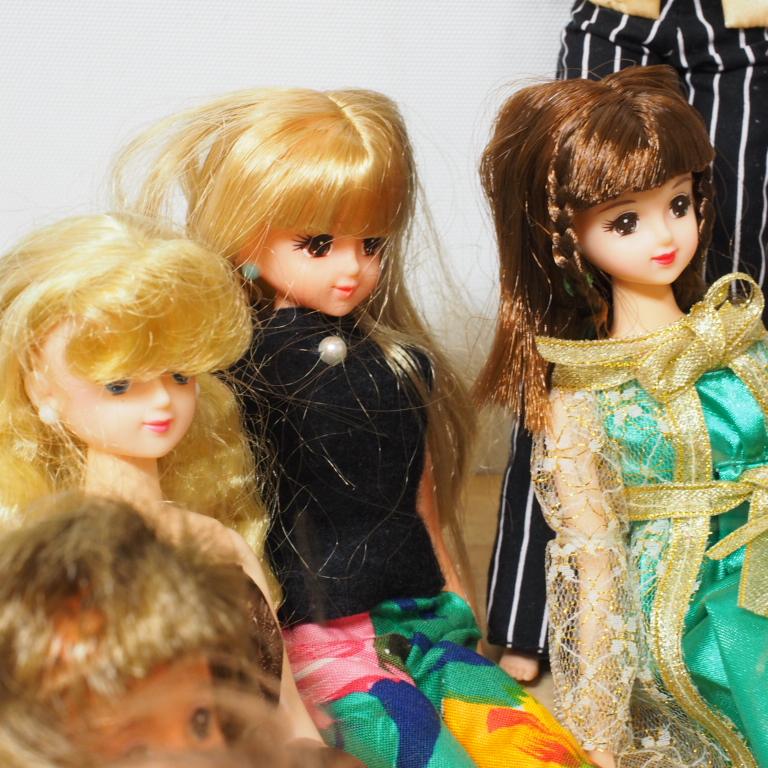 O) リカちゃん ジェニー バービー ブラッツ等 人形25体_画像7
