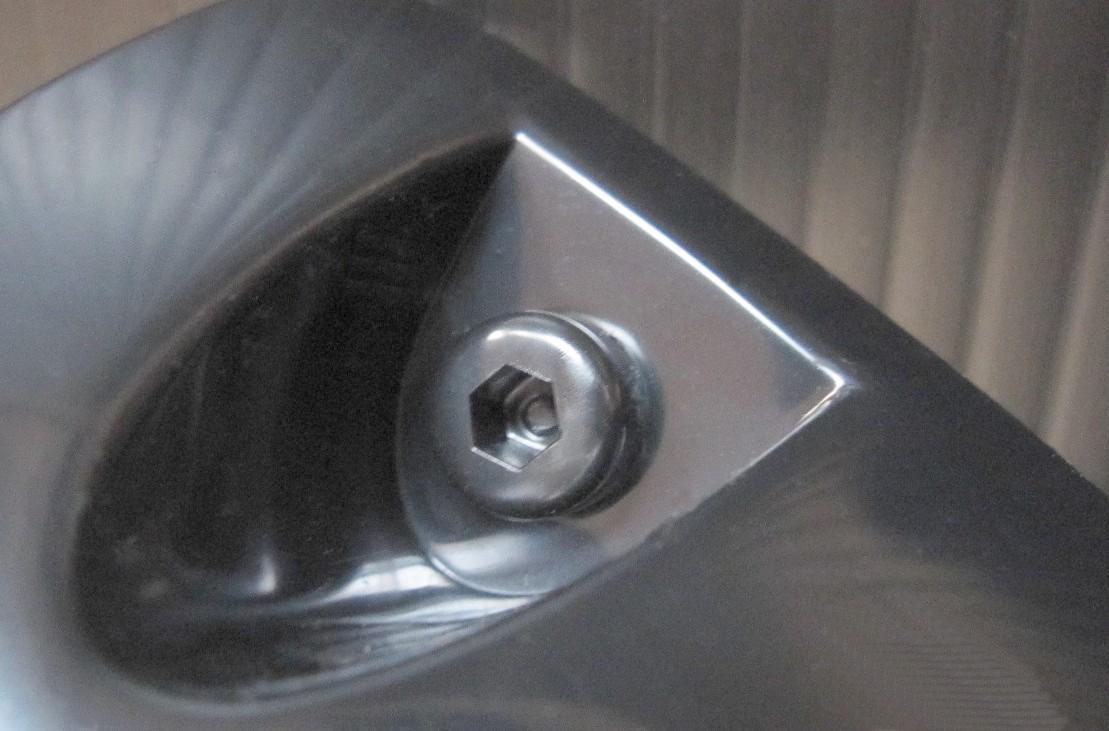 ★【訳あり】【即決】ブラック オーバーフェンダー2枚セット出幅 約49mm 黒 汎用品 大 旧車 ネオクラに フェンダーリップ フェンダーモール_ボルトはダミーボルトとなります