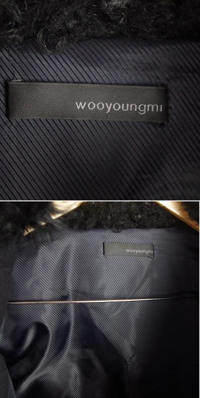 「Wooyoungmi/ウーヨンミ」袖本革ムートン・ダウンジャケット_画像4