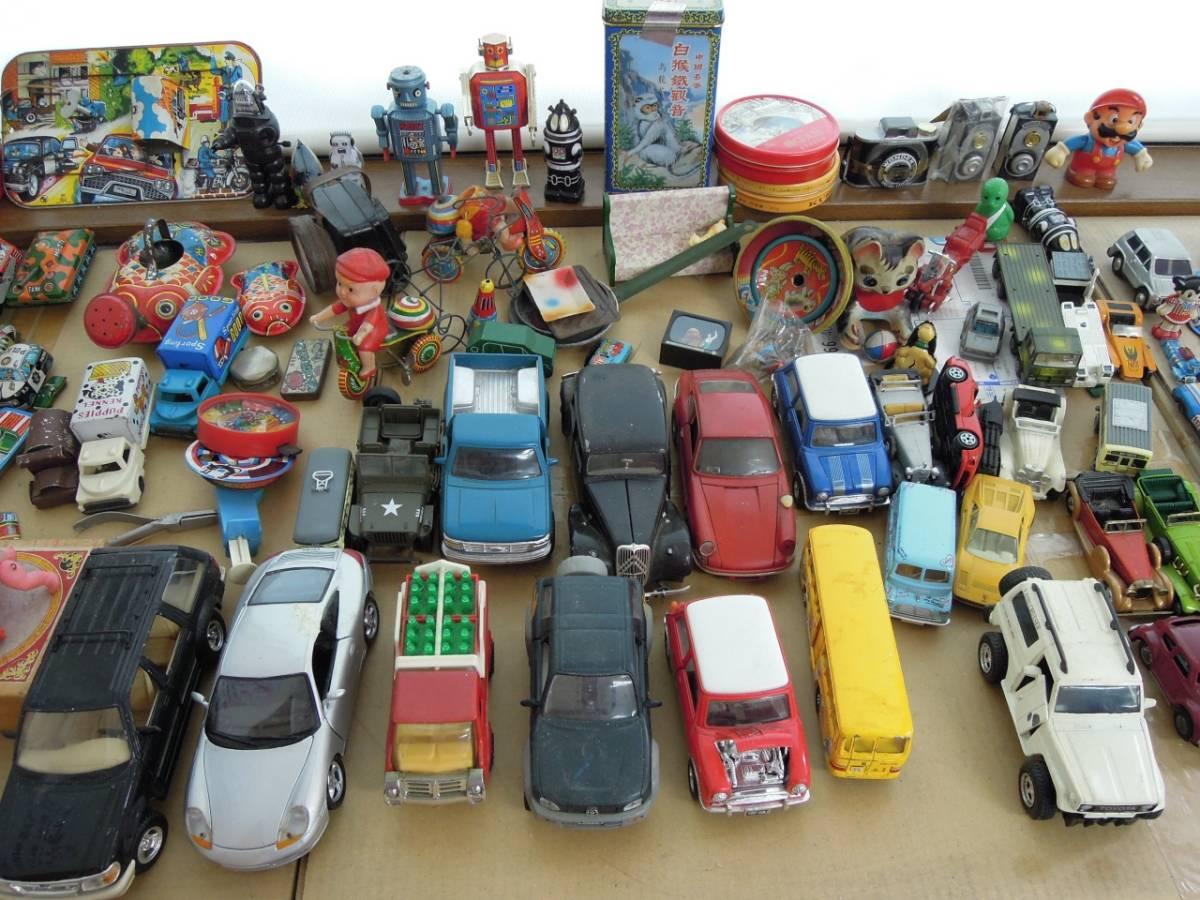 ●○大量!ブリキ おもちゃ まとめ売り! レアあるかも?! ミニカー 飛行機 昭和レ