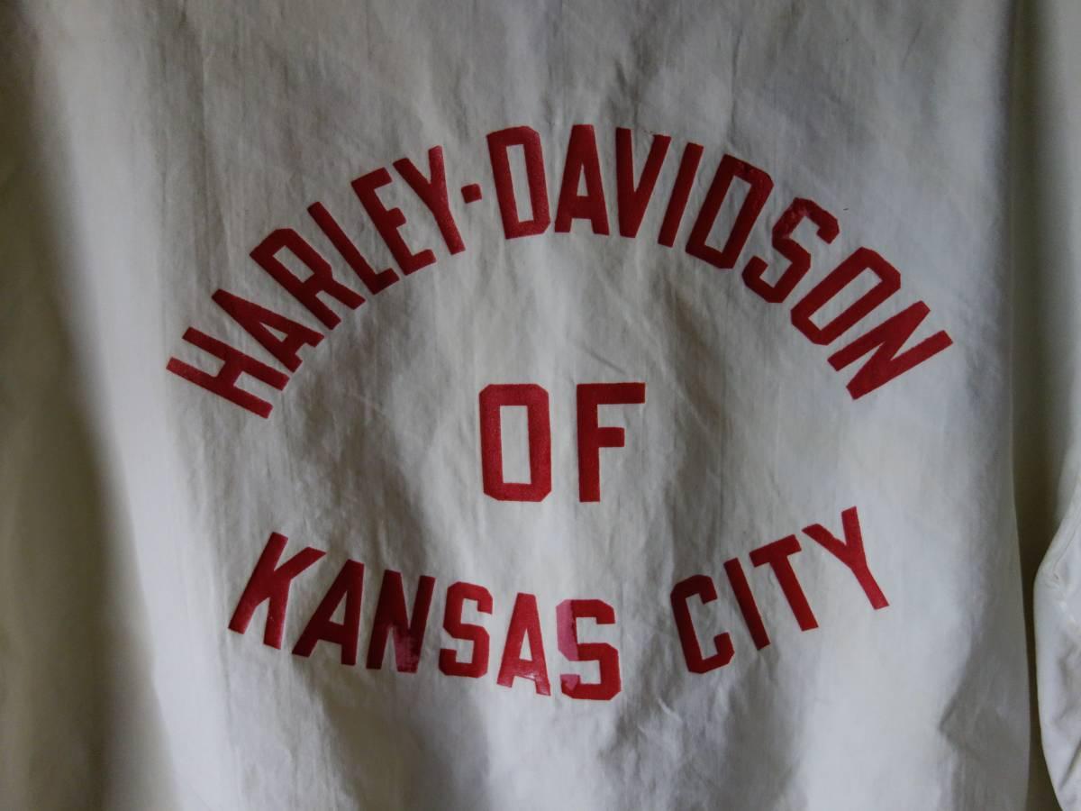 60s CHAMPION×HARLEYDAVIDSON チャンピオン ランナーズタグ ハーレーダビッドソン ビンテージ レーシングジャケット M_画像8
